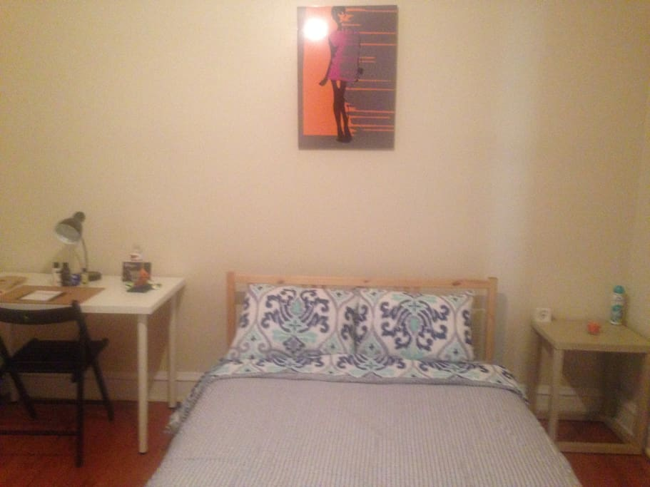 All bedrooms come with desk, chair, nightstand, dresser, lamp and closet space.