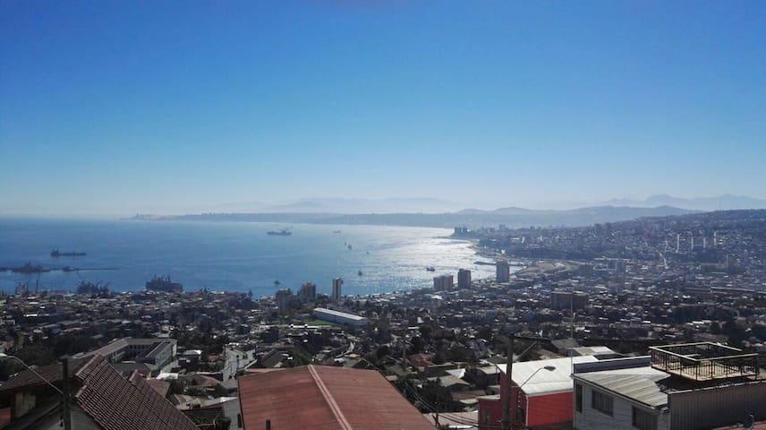 Departamento en con vista al mar - Valparaíso - Leilighet