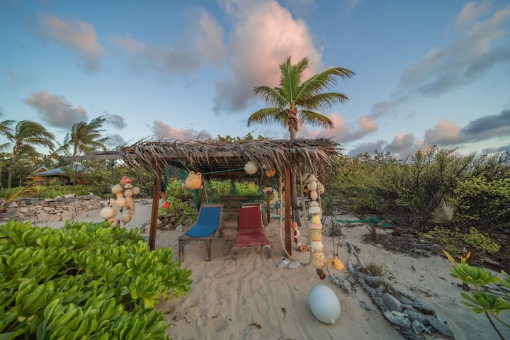 Tropical, Secluded Beach Front, Sand Beach, Pool
