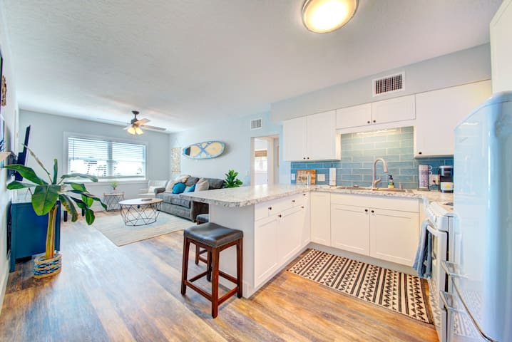 The Surf Shack apartment in downtown Cocoa Beach