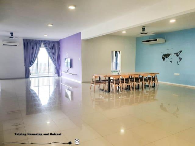 Scenic Penthouse-Lake Garden,Taiping (4-12 pax)