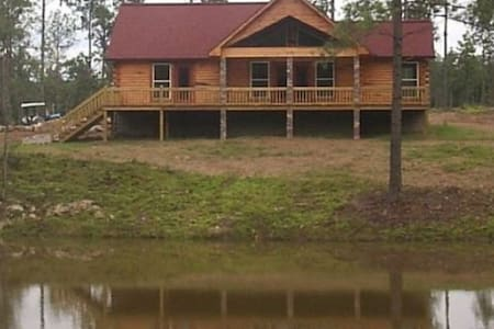 Lake Greeson Log Home w/Pool/Hot Tub/Fire Pit - Kirby - Cabane