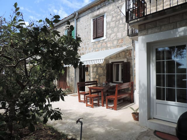 Idyllic vacation house in village