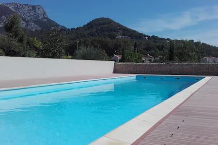 T2 récent avec jardin et piscine - La Valette-du-Var - Condominium