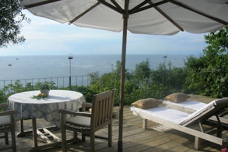 Olivegarden Piran beachfront w/private beach