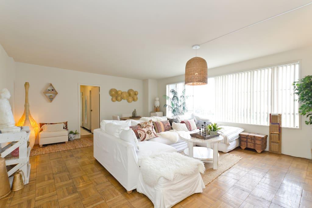 Wide open living room.