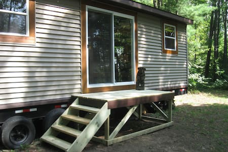 Hunting Cabin-Trailer- Enjoy A Summer Wonderland