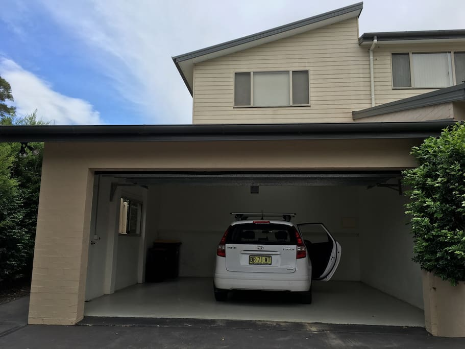 Secure garage with remote