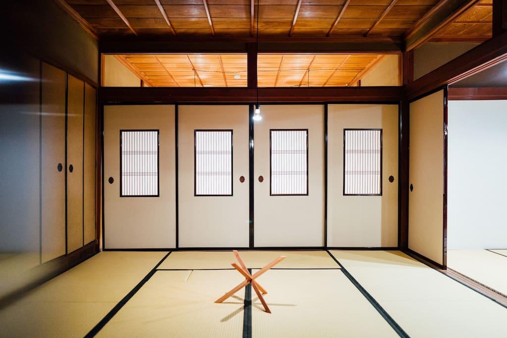 和室 tatami room