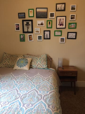 The Cush Cottage Guest Room