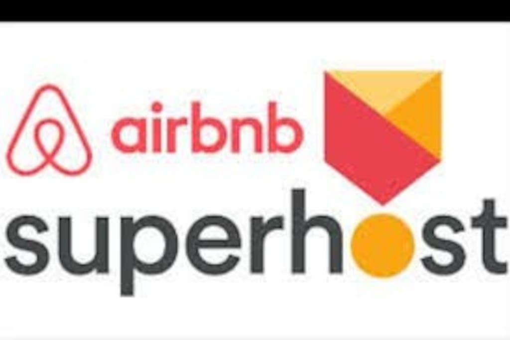 We are proud to be Airbnb superhosts!