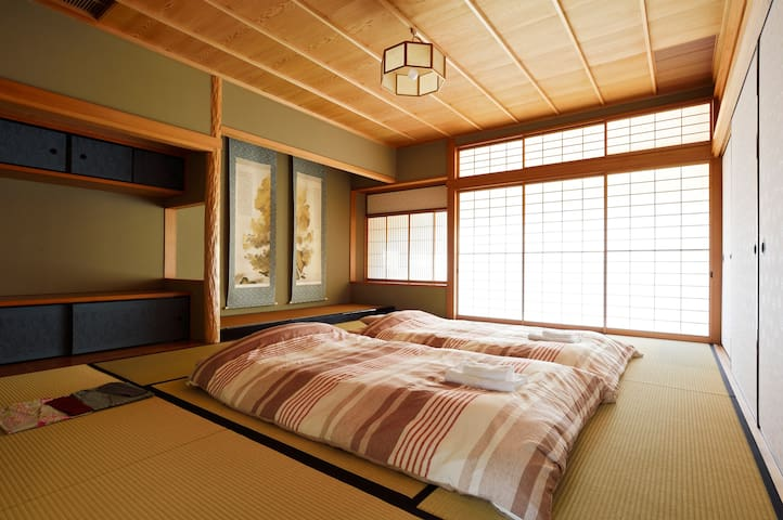 #8 Tatami 2-4 Adults Room(2 stations to KIX) - Izumisano-shi - Bed & Breakfast