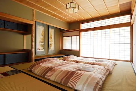 #8 Tatami 2-4 Adults Room(2 stations to KIX) - Izumisano-shi