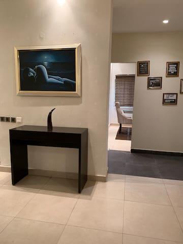 Foyer in the living room