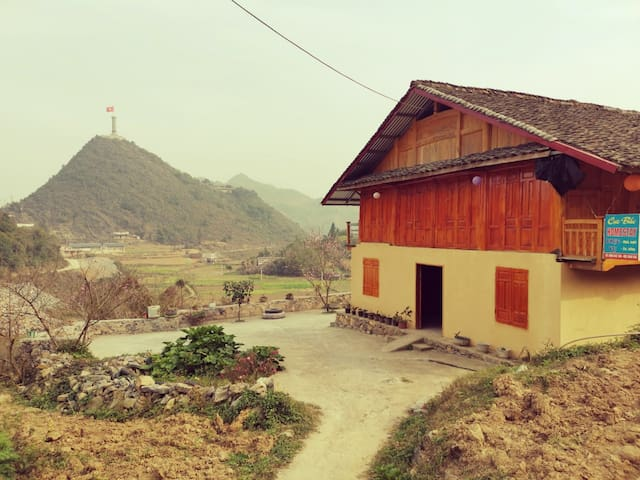 Lũng Cú Home with a View
