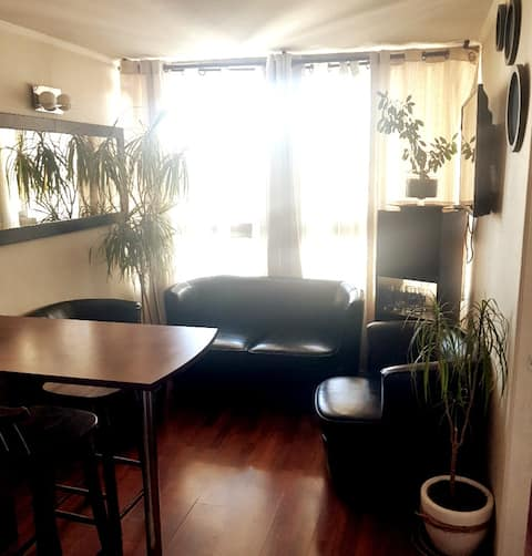 Beautiful private parking apartment incl.