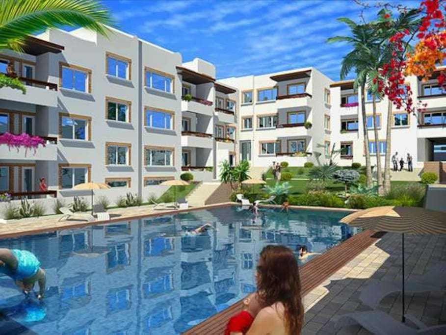 appartement haut standing avec piscine appartements en