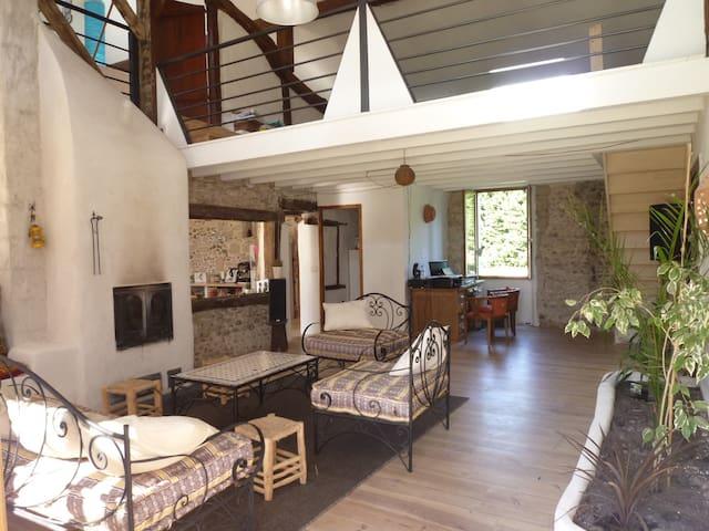 Superbe propriété maison+yourte 276m2 20' Hossegor - Josse - House