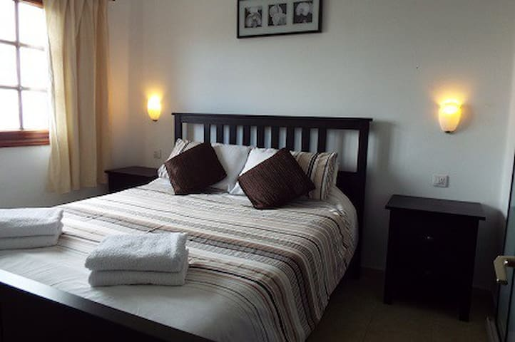 Good-size double bedroom