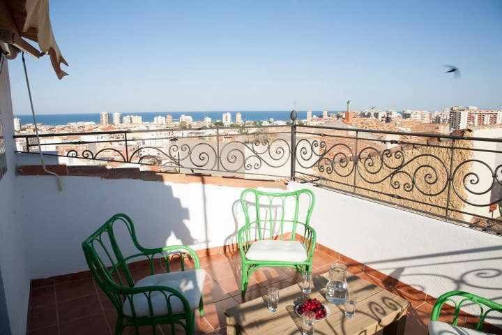 Rustic Mediterranean cozy house