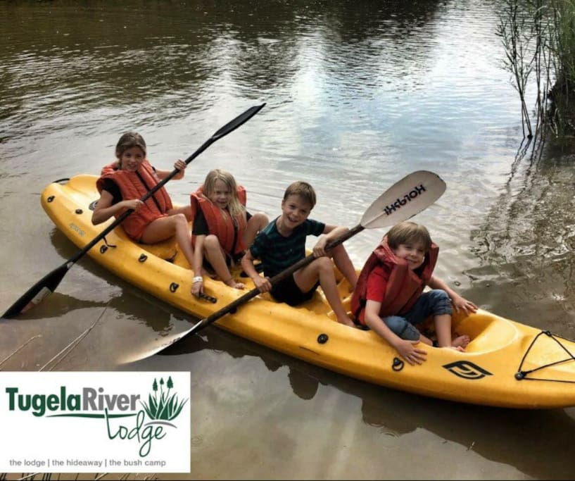 Fun for everyone, canoes and tubes are free