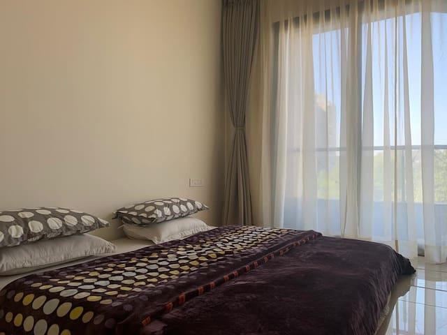 Bedroom 2 with Queensize Mattress