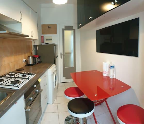 Appartement 2 pièces, 35m²