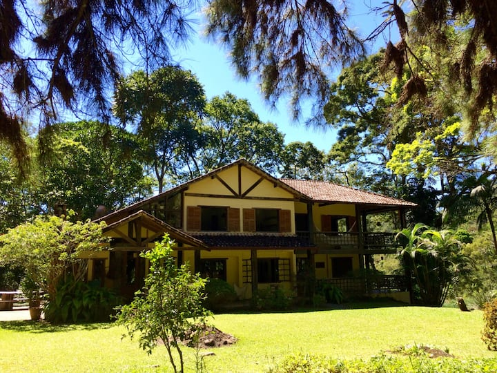 Beautiful Nature Lodge in the Atlantic Rainforest!