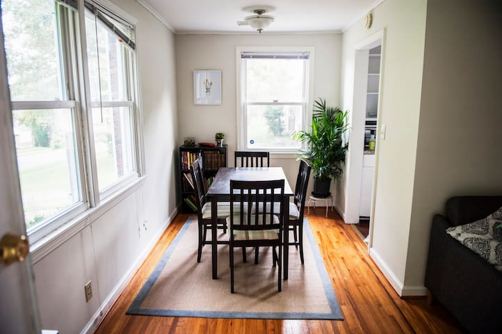 Cozy & Sunny Private Home in East Nashville!