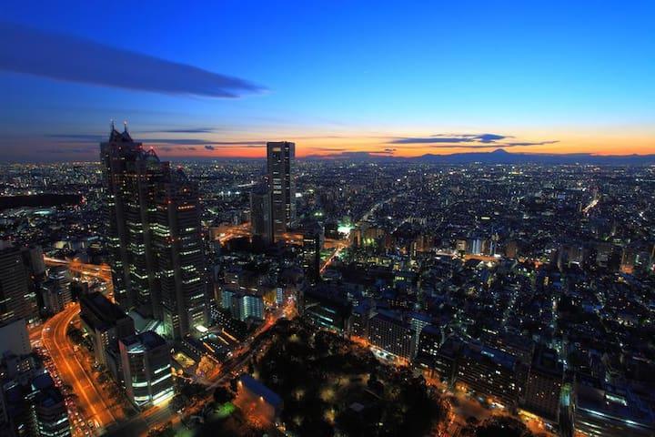 新宿から1駅、渋谷からバス15分の【初台】駅から徒歩30秒