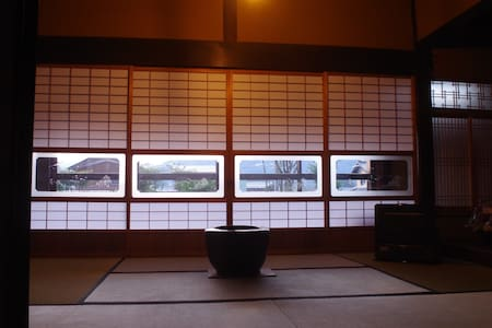 Japanese traditional house for one group