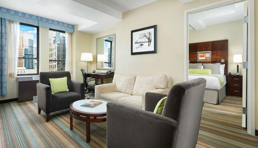 Suite for 4 in Central Location Times Square