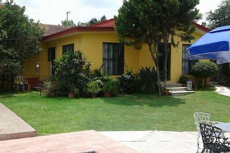 Bungalow bonito y agradable con alberca :) - Oaxtepec