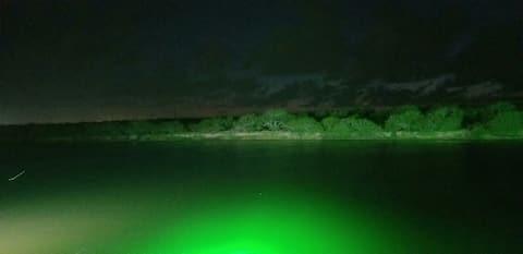 RV on a fishing hole