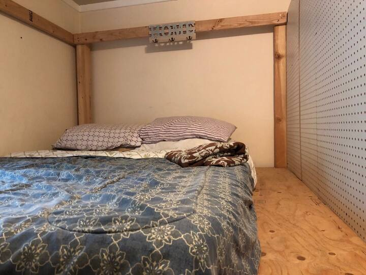 Lower Bunk A with bed door  in Shared Room
