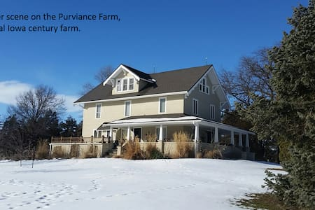 Purviance Farm - Minburn - Hus