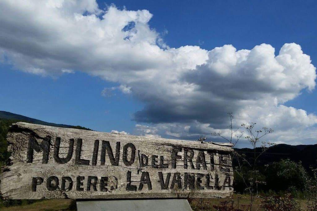 A due passi da Bologna e da Firenze cielo limpido e aria pulita