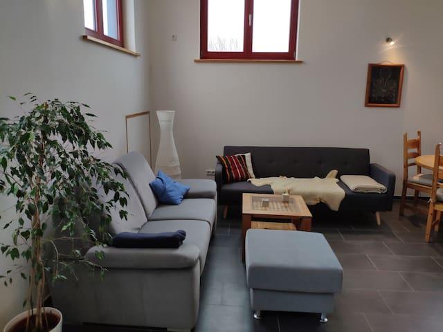 Modern 1-Bedroom Apartment