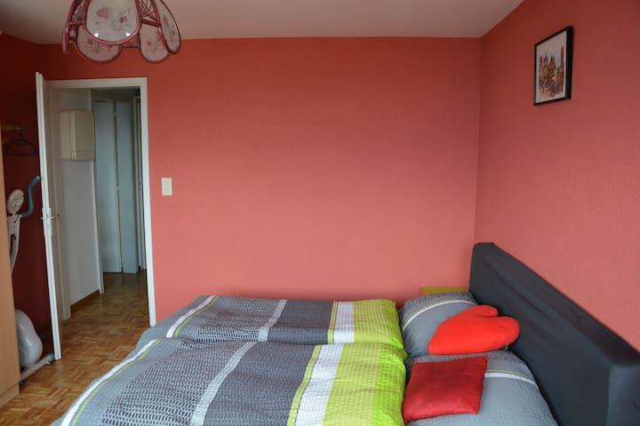 Belle chambre à Neuchâtel proche de la Gare - Neuchâtel - Apartament