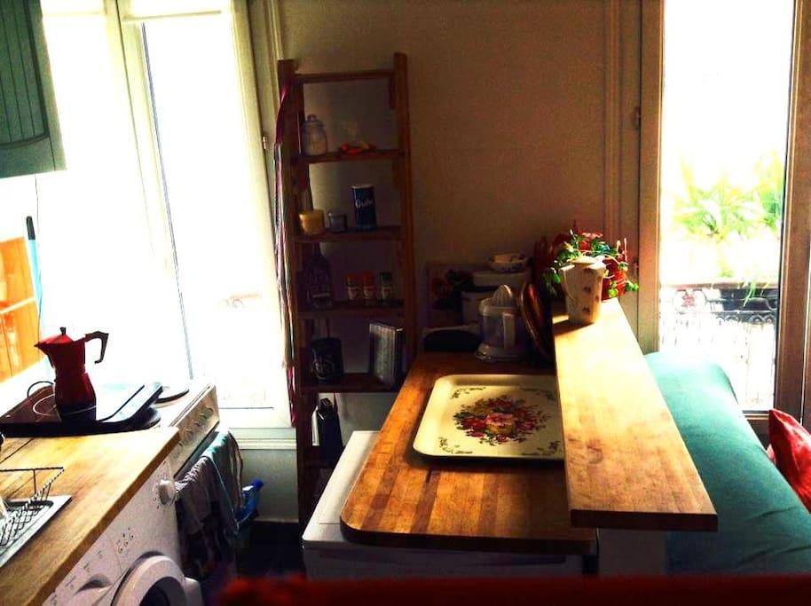Cuisine, 3ème fenêtre
