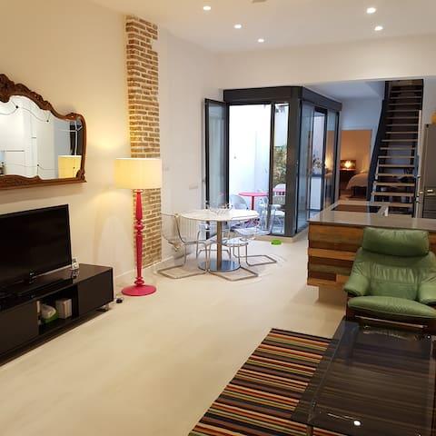 Large Modern Loft style apartment in Ruzafa - València - Byt