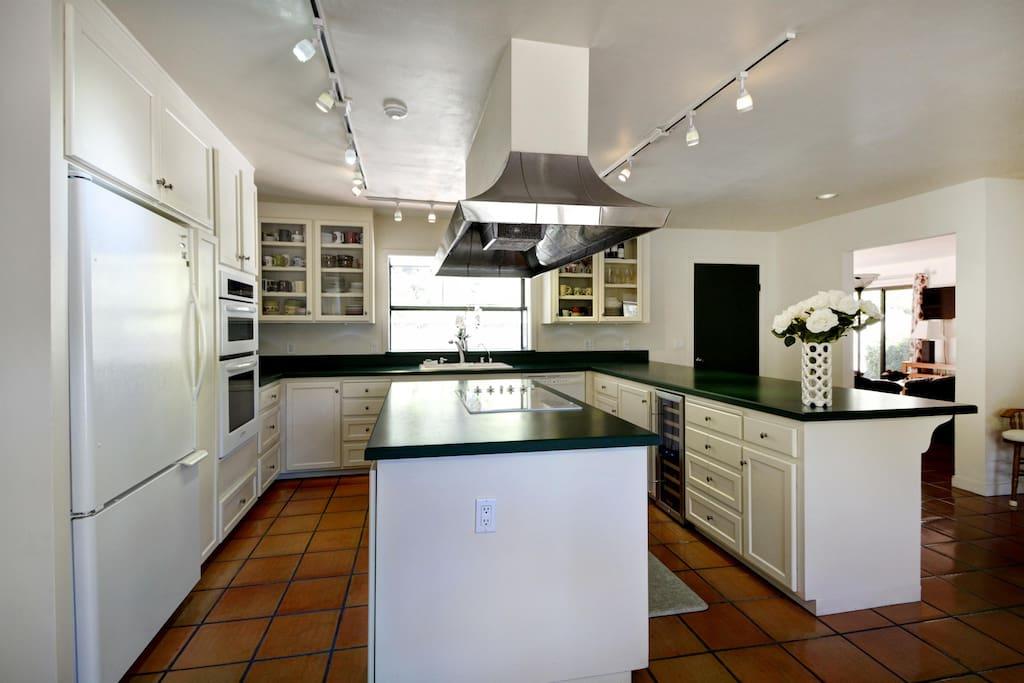 Bright Uplit Kitchen Space