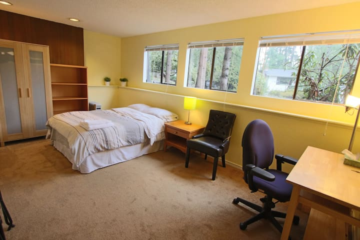 A Bright Room walk dist. Microsoft & Temple - Redmond - Casa