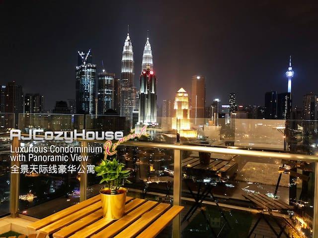 KLCity Center View@Luxurious Condo吉隆坡全景天际线豪华公寓 #2