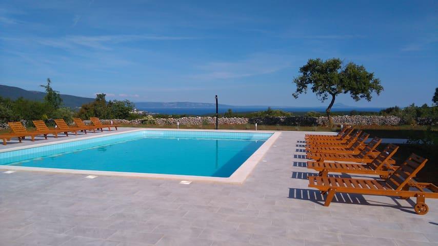 Paradise in Rakalj - swimming pool 12 x 8 m2 - Rakalj - Apartment