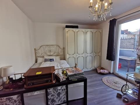 1 Zimmer Wohnung mit Sonnenbalkon