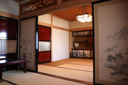Japanese-style rooms in a big house - Morioka-shi - 独立屋