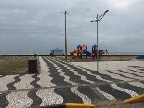 Apt. 2 quartos, Térreo, quadra da praia, Tramandaí