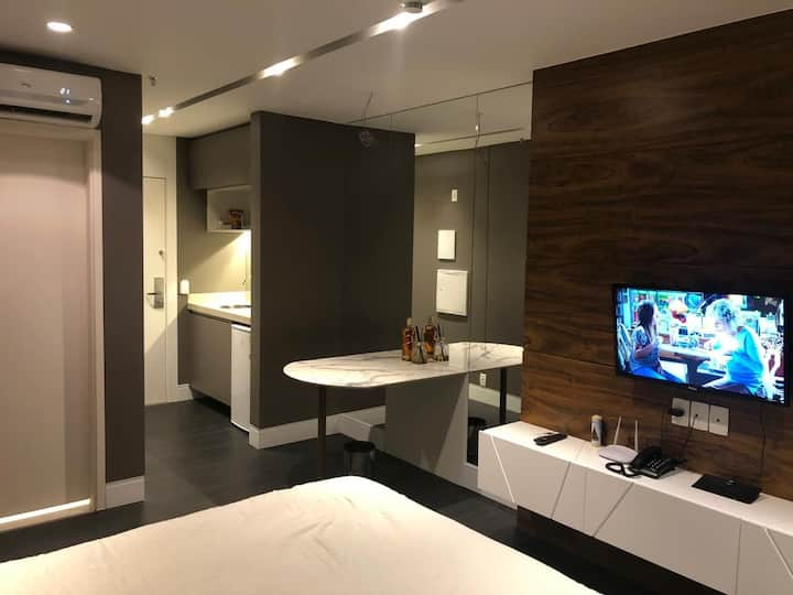 FLAT DESIGN MODERNO NO FUSION APART HOTEL