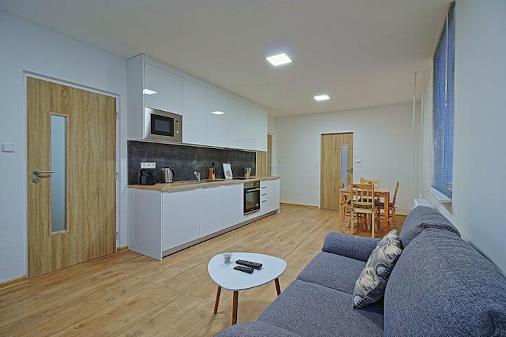 Prostorný a světlý byt pro celoroční dovolenou